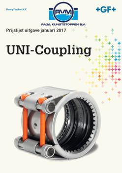 Uni-coupling prijslijst GF