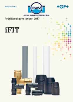 iFit Georg Fischer prijslijst