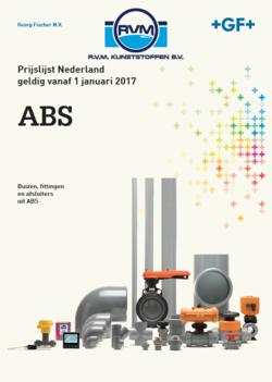 Prijslijst ABS Georg Fischer RVM Kunststoffen