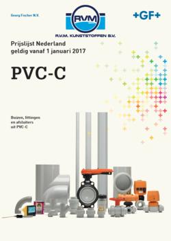 Prijslijst PVC-C Georg Fischer RVM Kunststoffen